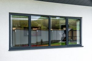 Anthracite Grey Aluminium Window