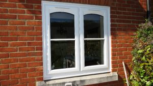 Arched UPVC Swept Inserts