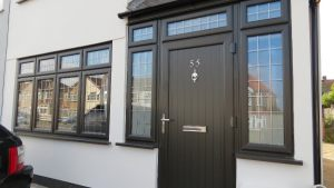 Black UPVC Windows and Door