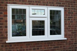 Clsoe up of White UPVC Window