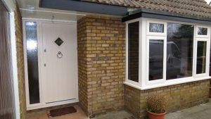 Cream UPVC Window and Door