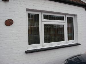 Leaded UPVC Window