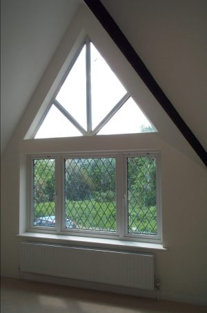 UPVC Gable Window