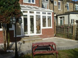 Wrap Round Edwardian in White UPVC