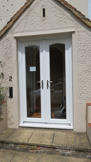 French Doors with Curved Heads