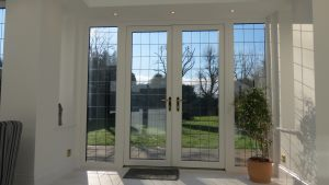 Leaded Lights in French Doors