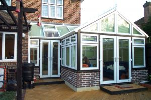 Black and White Combi Gable