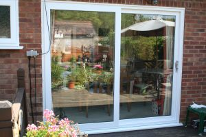 Small Sliding UPVC Door