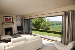 Stunning Views With Triple Track Doors