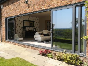 Unrestricted Openings With Patio Doors