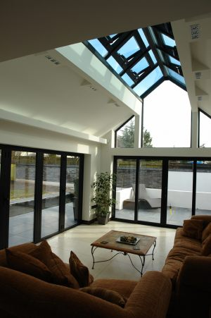 Gable Roof Light with Electric Roof Vents