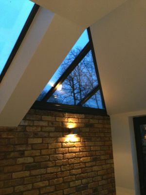 Roof Light in Anthracite Grey